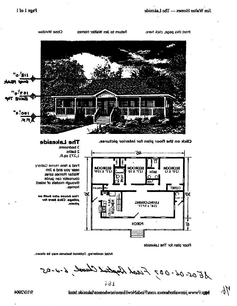 Jim Walter Homes u2014 The Lakeside Page 1of 1 Print this page,...