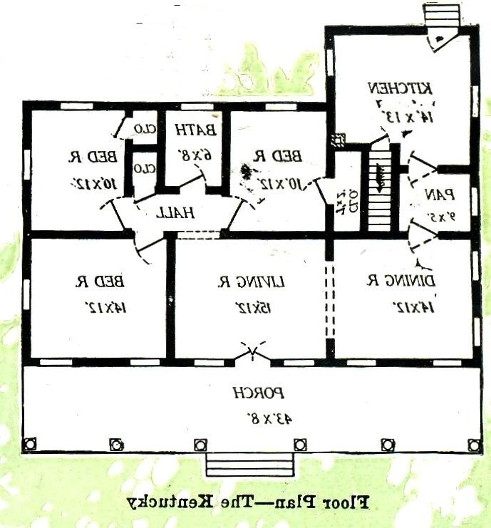 The Kentucky was offered in two floorplans, small and large. This...