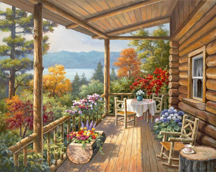 HD wallpapers log home builders near asheville nc