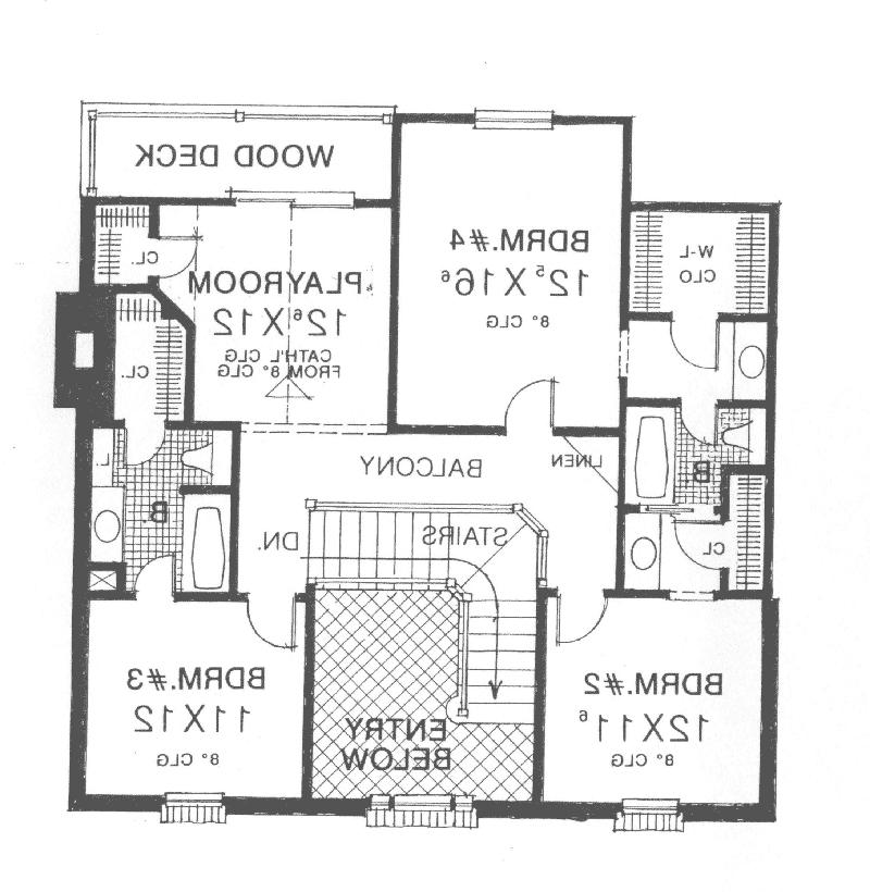 Georgian House Plans Photos