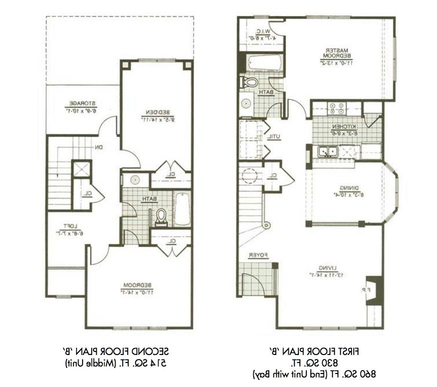 Three bedroom house plans with photos for 3br 2ba floor plans