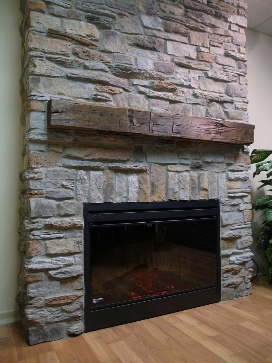 Photos of old stone fireplaces