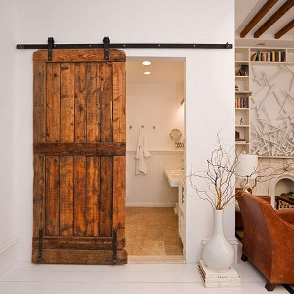interior barn door photos