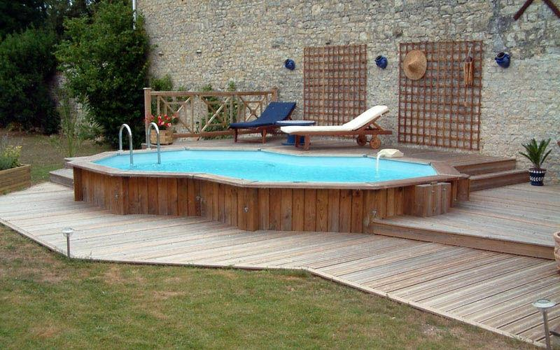 Inground pool fence photos for Pool design rochester ny