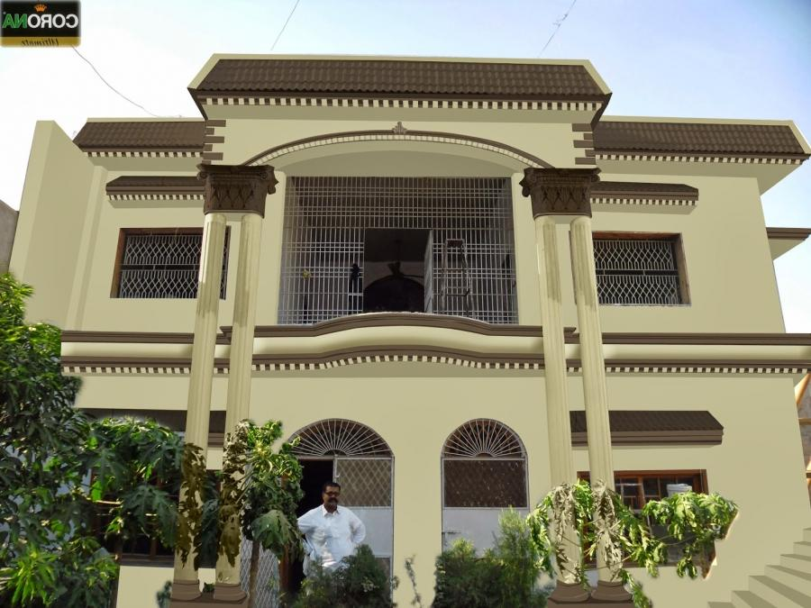 Front Elevation Designs Houses Hyderabad : House front elevation photos in hyderabad