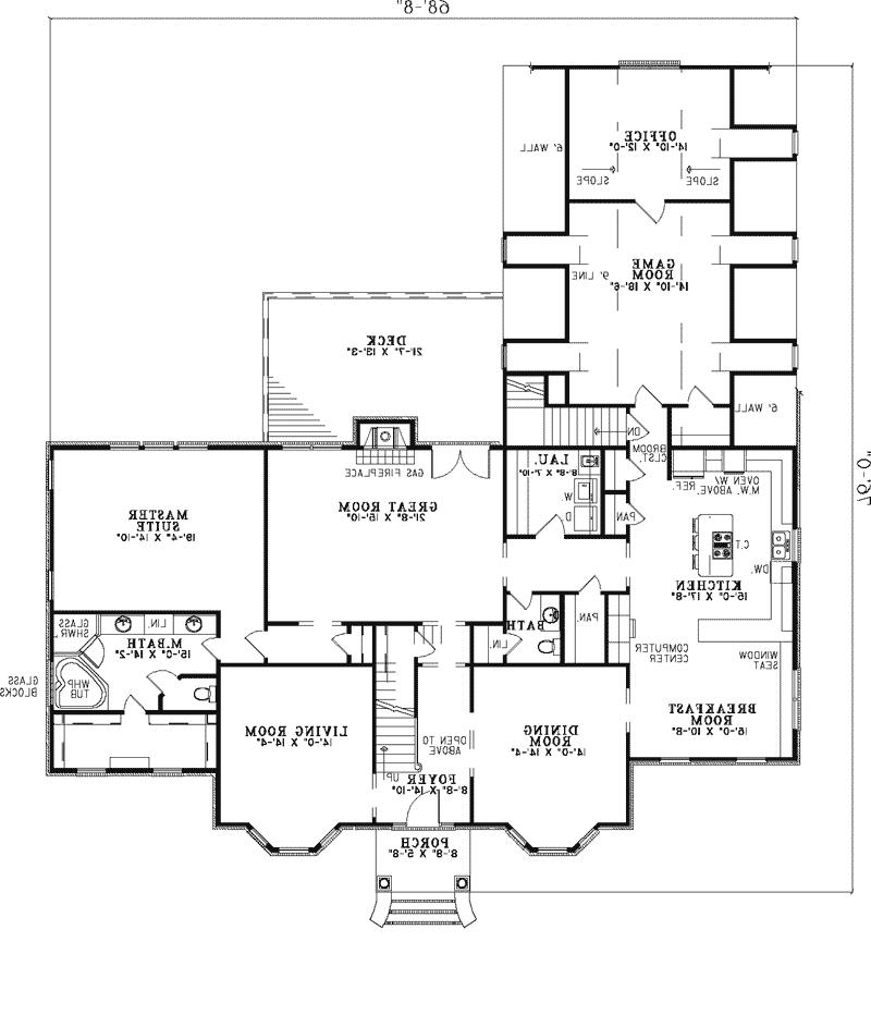 Georgian house plans photos for Georgian mansion floor plans