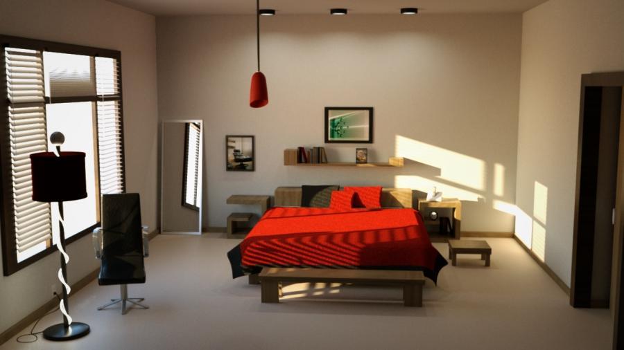 Bedroom Scene Photo