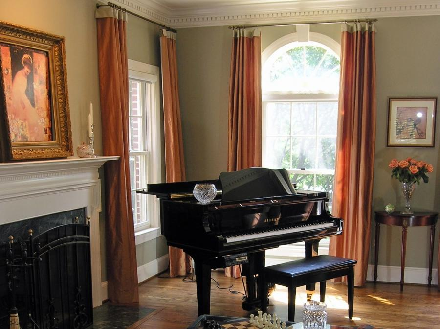 Living room window treatment photos - Modern window treatments for living room ...