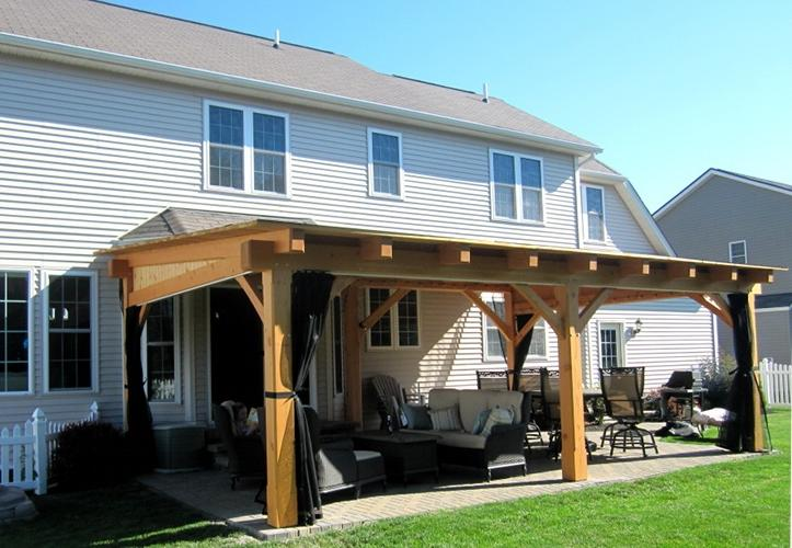 One Level Home Plans With Porches