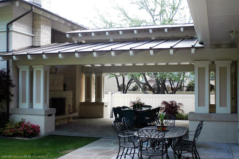 Garage to house breezeway photos for House plans with breezeway to guest house