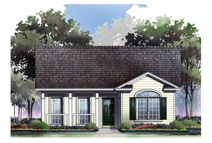 Bungalow house plans with photos canada for Dream home source canada