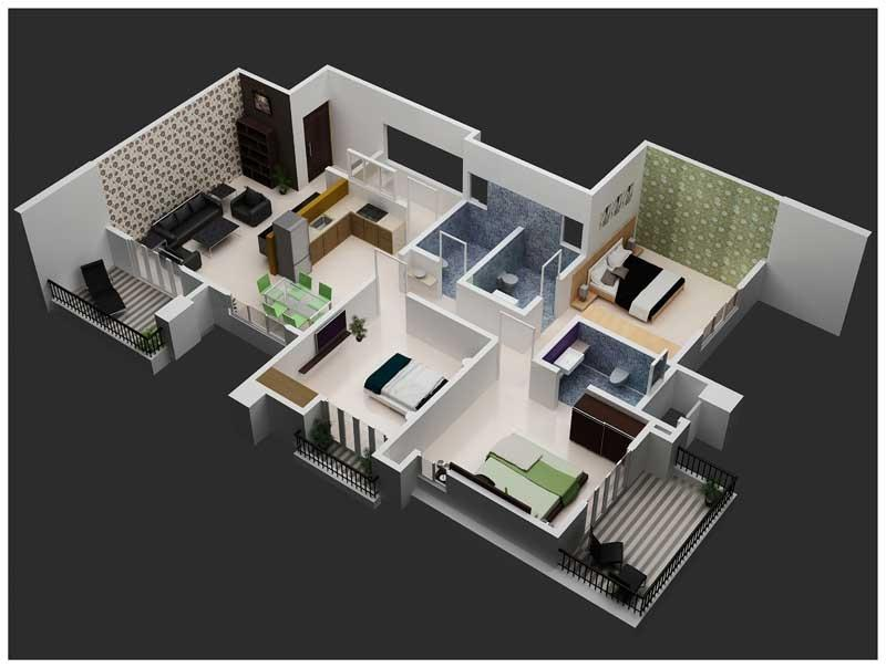 1 bhk flats in bangalore 1 bhk apartments for sale page 1 for Interior decoration for 1rk