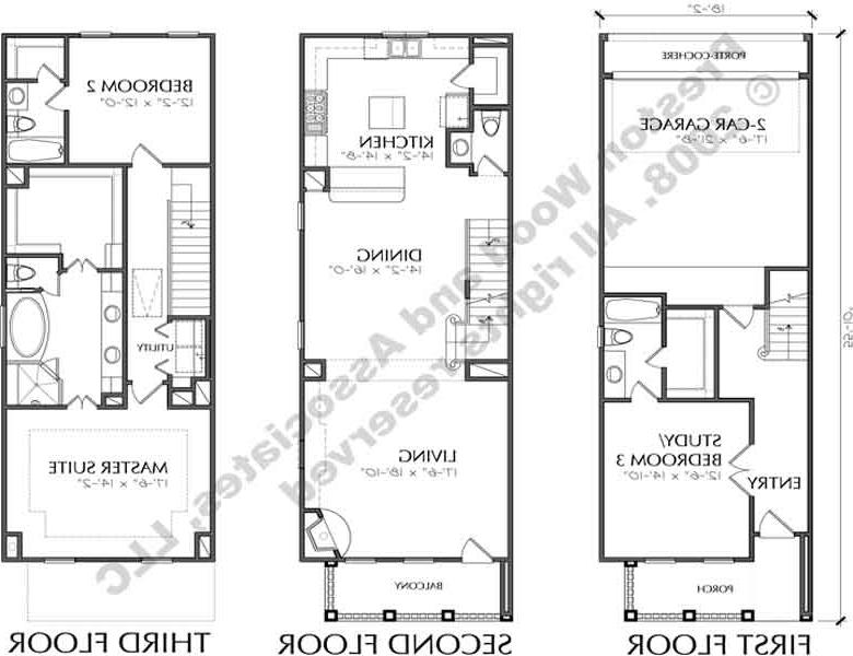 Urban Townhouse Floor Plans: Urban House Plans Photos