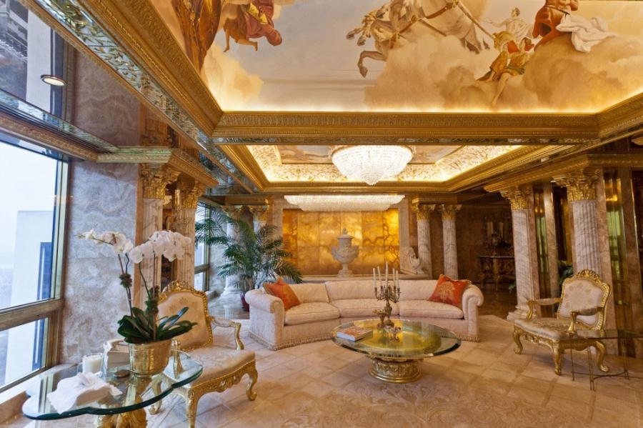 Donald photos apartment trump